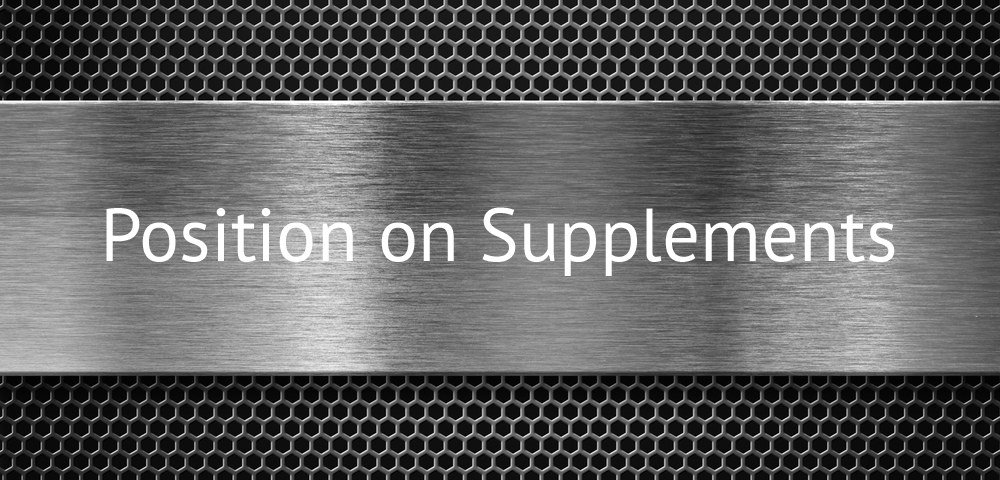 position on supplements header
